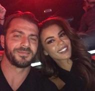 Ο Γιώργος μαζί με την Ειρήνη στο Club 22 - 21 Σεπτεμβρίου 2017 Φωτογραφία: eirini_papadopoulou Instagram