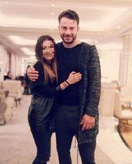 Ο Γιώργος με φαν στην Κύπρο στις 25 Νοεμβρίου 2017 Φωτογραφία: 1mara_costa Instagram