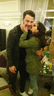 Ο Γιώργος με φαν στην Κύπρο στις 25 Νοεμβρίου 2017 Φωτογραφία: andrea.swim Instagram