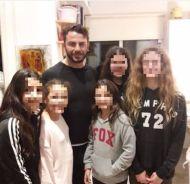 Ο Γιώργος με φανς στην Κύπρο στις 25 Νοεμβρίου 2017 Φωτογραφία: christinatheophanous Instagram