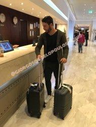 Ο Γιώργος στο ξενοδοχείο του στην Κύπρο όπου έφτασε για την παρουσίαση των Time Out Awards - 25 Νοεμβρίου 2017 Φωτογραφία: giorgosaggelopoulos_news Instagram