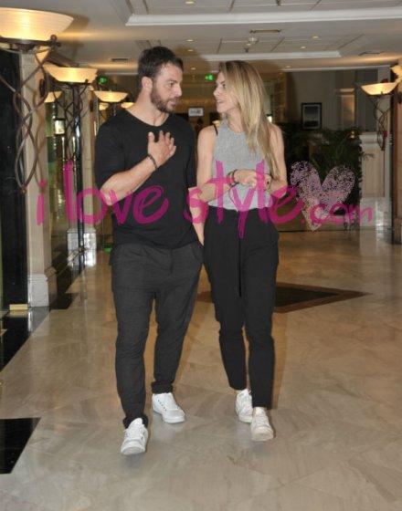 Ο Γιώργος και η Ντορέττα στην Κύπρο για την παρουσίαση των Time Out Awards - 26 Νοεμβρίου 2017 Φωτογραφία: ilovestyle.com