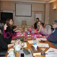Ο Γιώργος και η Ντορέττα στην Κύπρο για την παρουσίαση των Time Out Awards μαζί με την ομάδα παραγωγής των βραβείων - 26 Νοεμβρίου 2017 Φωτογραφία: ilovestyle.com
