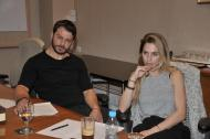 Ο Γιώργος και η Ντορέττα στην Κύπρο για την παρουσίαση των Time Out Awards μαζί με την ομάδα παραγωγής των βραβείων - 26 Νοεμβρίου 2017 Φωτογραφία: timeoutcyprus.com