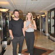 Ο Γιώργος και η Ντορέττα στην Κύπρο για την παρουσίαση των Time Out Awards - 26 Νοεμβρίου 2017 Φωτογραφία: timeoutcyprus.com