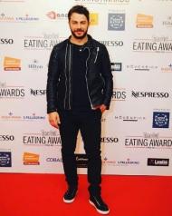 Ο Γιώργος στο κόκκινο χαλί των Time Out Eating Awards στην Κύπρο στις 28 Νοεμβρίου 2017 Φωτογραφία: ilovestylecom