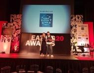 Ο Γιώργος και η Ντορέττα κατά τη διάρκεια των προβών για τα Time Out Eating Awards - 28 Νοεμβρίου 2017 Φωτογραφία: kolokotroni_d Instagram