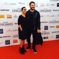 Ο Γιώργος στο κόκκινο χαλί των Time Out Eating Awards στην Κύπρο στις 28 Νοεμβρίου 2017 Φωτογραφία: okmagazinecyprus Instagram