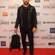 Ο Γιώργος στο κόκκινο χαλί των Time Out Eating Awards στην Κύπρο στις 28 Νοεμβρίου 2017 Φωτογραφία: timeoutcyprus Facebook
