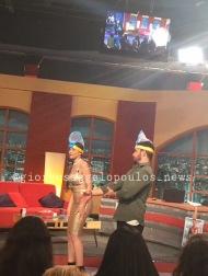"""Ο Γιώργος στο γύρισμα της εκπομπής """"Πρίγκιπας"""" που έγινε στις 29 Νοεμβρίου 2017 Φωτογραφία: goiorgosaggelopoulosnews.com"""