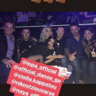 Ο Γιώργος μαζί με Λευτέρη Πανταζή και φίλους στο Club 22 Live Stage στις 3 Νοεμβρίου 2017 Φωτογραφία: smpekiari Instagram