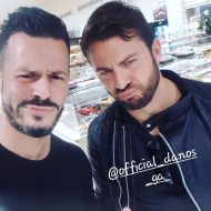 Ο Γιώργος με τον DJ Ανδρέα Πατσαλίδη στη Λευκωσία στις 30 Νοεμβρίου 2017 Φωτογραφία: djandrezp Instagram