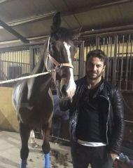 Ο Γιώργος στον Ιππικό Όμιλο Cavalier που βρίσκεται στους Αγίους Τριμιθιάς Λευκωσίας - 30 Νοεμβρίου 2017 Φωτογραφία: gregoreszakharias Instagram