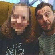 Ο Γιώργος με φαν στο Avanti Cafe-Bar στις 5 Νοεμβρίου 2017 Φωτογραφία: _migelt_ Instagram