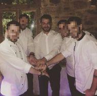 Ο Γιώργος στο Μεξικάνικο εστιατόριο-μπαρ Coyoacan Athens μετά την επίδειξη των Miro στις 5 Νοεμβρίου 2017 Φωτογραφία: george90_nikas Instagram