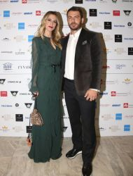 Ο Γιώργος και η Ντορέττα στην επίδειξη μόδας των Mi-ro που έγινε στο Ωδείο Αθηνών στις 5 Νοεμβρίου 2017 Φωτογραφία: missbloom