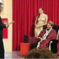 """Ο Γιώργος στο γύρισμα της σατυρικής εκπομπής """"Πρίγκιπας"""" στην Κύπρο στις 29 Νοεμβρίου 2017 Φωτογραφία: giorgos_aggelopoulos_friends Instagram"""