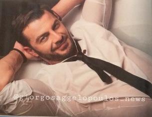 Ο Γιώργος στη φωτογράφιση για το περιοδικό ΟΚ που κυκλοφόρησε στις 15 Νοεμβρίου 2017 Φωτογραφία: Πάνος Γιαννακόπουλος