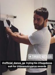 Ο Γιώργος ψάχνοντας τα κατάλληλα ρούχα για την παρουσίαση των Time Out Awards - 27 Νοεμβρίου 2017 Φωτογραφία: timinisofficial