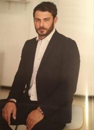 """Η φωτογράφιση του Γιώργου για το περιοδικό Beautiful People που κυκλοφόρησε με την εφημερίδα """"Η Καθημερινή"""" της Κύπρου στις 29 Οκτωβρίου 2017 Φωτογράφος: Ντέμης Σειρανίδης"""