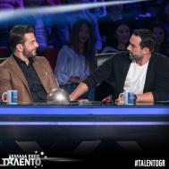 """Ο Γιώργος και ο Σάκης στο """"Ελλάδα έχεις ταλέντο"""" - 14 Νοεμβρίου 2017 Φωτογραφία: talentogr Instagram"""