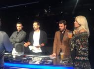 """Ο Γιώργος και η κριτική επιτροπή στο """"Ελλάδα έχεις ταλέντο"""" - 14 Νοεμβρίου 2017 Φωτογραφία: xdstud1o Instagram"""
