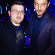Ο Γιώργος με φαν στο Fever όπου διασκέδασε με το πρόγραμμα των Νότη Σφακιανάκη και Πέγκυ Ζήνα - 15 Δεκεμβρίου 2017 Φωτογραφία: doreta91 Instagram