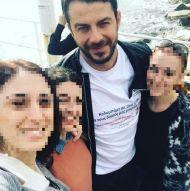 Ο Γιώργος με φανς στη φιλανθρωπική εκδήλωση για τη στήριξη οικογενειών με παιδιά που πάσχουν από κακοήθεια που έγινε στη Λεμεσό στις 23 Δεκεμβρίου 2017Φωτογραφία: dimitranearchou Instagram