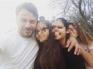 Ο Γιώργος μαζί με μικρούς φανς στη Σκιάθο στις 26 Δεκεμβρίου 2017 Φωτογραφία: demy_kantarakh Instagram