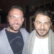 Ο Γιώργος με φαν στη Σκιάθο στις 26 Δεκεμβρίου 2017 Φωτογραφία: giannisjovanni Instagram