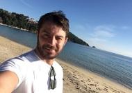 Ο Γιώργος στη Σκιάθο, σε μια ήρεμη και χαλαρή μέρα μετά τα Χριστούγεννα - 26 Δεκεμβρίου 2017 Φωτογραφία: gregoreszakharias Instagram