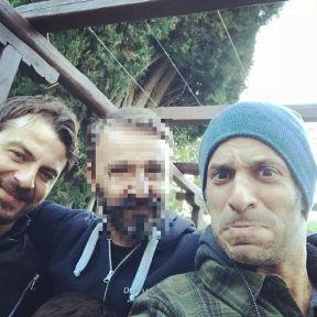 Ο Γιώργος μαζί με τον Χρανιώτη στη Σκιάθο στις 27 Δεκεμβρίου 2017 Φωτογραφία: hraniotis_giorgos_official Instagram