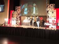Ο Γιώργος και η Ντορέττα στις πρόβες για τα βραβεία Time Out στο Royal Hall στη Λευκωσία - 27 Νοεμβρίου 2017 Φωτογραφία: giorgosaggelopoulos_news Instagram