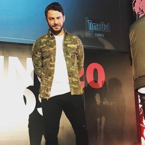 Ο Γιώργος στις πρόβες για τα βραβεία Time Out στο Royal Hall στη Λευκωσία - 27 Νοεμβρίου 2017 Φωτογραφία: official_danos_ga Instagram