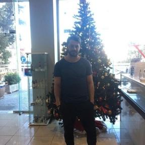 Ο Γιώργος στο Vari Sports Club όπου βρέθηκε για τις ανάγκες φωτογράφισης - 8 Δεκεμβρίου 2017 Φωτογραφία: varisportsclub Instagram