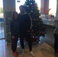 Ο Γιώργος με φαν στο Vari Sports Club όπου βρέθηκε για τις ανάγκες φωτογράφισης - 8 Δεκεμβρίου 2017 Φωτογραφία: varisportsclub Instagram