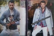 Ο Γιώργος στο περιοδικό Hello που κυκλοφόρησε στις 13 Δεκεμβρίου 2017 Φωτογράφος: Serifian Art House
