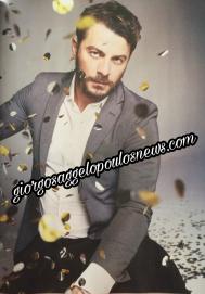 """Ο Γιώργος στη φωτογράφιση και συνέντευξη για το περιοδικό Down Town Κύπρου που κυκλοφόρησε στις 6 Ιανουαρίου 2018 με την εφημερίδα """"Ο Φιλελεύθερος"""" Φωτογραφία: Πάνος Γιαννακόπουλος"""