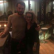 Ο Γιώργος με φαν στο Avanti Cafe-Bar - 10 Δεκεμβρίου 2017 Φωτογραφία: giorgos_aggelopoulos_friends Instagram