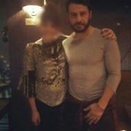 Ο Γιώργος με φαν στο Avanti Cafe-Bar - 10 Δεκεμβρίου 2017 Φωτογραφία: theanw_theodwropoulou Instagram