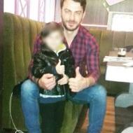 Ο Γιώργος με φαν στο Avanti Cafe-Bar - 13 Δεκεμβρίου 2017 Φωτογραφία: grigoriapapadopoulou Instagram