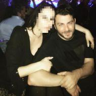 """Ο Γιώργος μαζί με φαν στο κέντρο """"Έναστρον"""" όπου διασκέδασε με το πρόγραμμα Μαζωνάκης - Πάολα - Ρόκκος - 13 Ιανουαρίου 2018 Φωτογραφία: mariavassounavy Instagram"""
