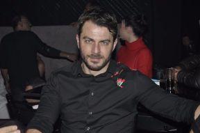 Ο Γιώργος στο νυχτερινό κέντρο Fever όπου διασκέδασε με το πρόγραμμα του Νότη Σφακιανάκη και της Πέγκυ Ζήνα - 15 Δεκεμβρίου 2017 Φωτογραφία: mikrofwno.gr