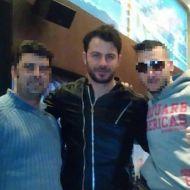 Ο Γιώργος με φανς στο Avanti Cafe-bar στις 18 Ιανουαρίου 2018 Φωτογραφία: giorgos_aggelopoulos_friends Instagram