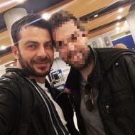 Ο Γιώργος μαζί με φαν κατά την άφιξή του στην Κύπρο στις 19 Δεκεμβρίου 2017 Φωτογραφία: neoklis_neokleous Instagram