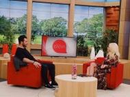 """Ο Γιώργος στην εκπομπή """"Ελένη"""" του Alpha TV - 19 Ιανουαρίου 2018 Φωτογραφία: alphatv Instagram"""