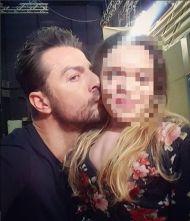"""Ο Γιώργος μαζί με φαν στα backstage της εκπομπής """"Ελένη"""" - 19 Ιανουαρίου 2018 Φωτογραφία: kyliestr Instagram"""