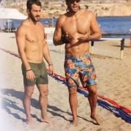 Ο Γιώργος και ο Γιάννης στη Βάρκιζα για το Make a Wish - 19 Σεπτεμβρίου 2017 Φωτογραφία: gregoreszakharias Instagram