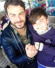 Ο Γιώργος με μικρο φαν στην Κύπρο - 2 Δεκεμβρίου 2017 Φωτογραφία: 1mara_costa Instagram
