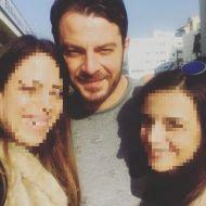 Ο Γιώργος με φανς στην Κύπρο στις 21 Δεκεμβρίου 2017 Φωτογραφία: artemoulla Instagram